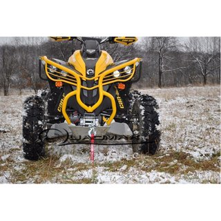 front Bumper Can Am Renegade G2 in Gelb / Yellow with Winch Holder